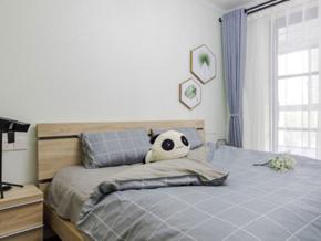 18平米宜家風格簡約臥室設計裝修圖