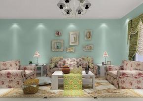 两室一厅70平米室内装修效果图
