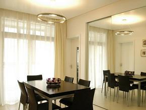 地中海风格餐厅吊灯装修效果图