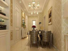 欧式风格餐厅装修设计效果图