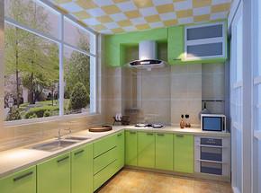 新房厨房装修设计效果图