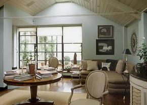 田园风格三室两厅装修样板图