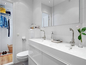 现代简约风格洗浴室装修效果图