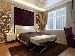 現代簡約小戶型臥室設計裝修效果圖