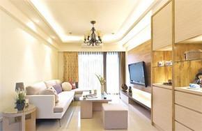 现代简约风格小客厅装修效果图