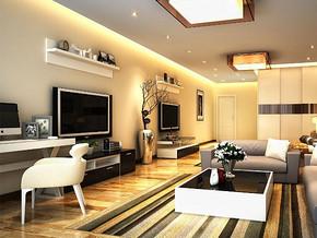 日式风格客厅电视柜装修效果图
