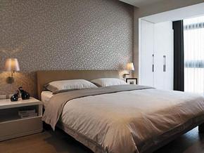 现代日式风格卧室装修效果图