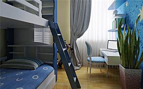 地中海風格兒童房裝修效果圖