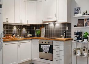 现代厨房装修风格效果图