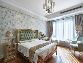 清新歐式臥室裝修效果圖