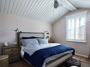 混搭風格臥室吊頂裝修效果圖