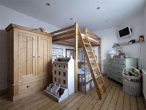 日式兒童房臥室裝修效果圖