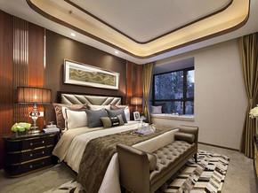 現代風格臥室吊頂裝修效果圖