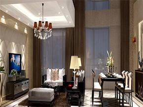 现代风格家装客厅设计效果图