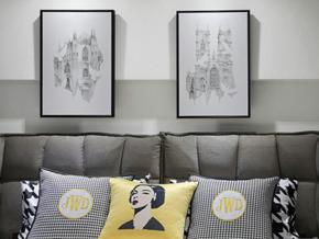 90平摩洛哥時尚loft公寓