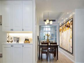 浪漫现代风格两室装修效果图