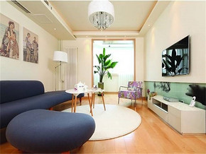 現代簡約風格客廳小戶型沙發圖片大全
