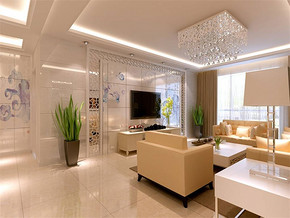 装修风格现代简约风格客厅装修效果图