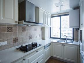 簡歐風格廚房裝修設計效果圖