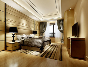 婚房卧室布置装修效果图