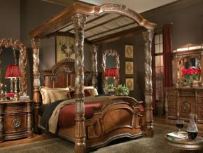 别墅欧式风格卧室装修效果图