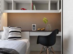 簡約風格小臥室裝修效果圖
