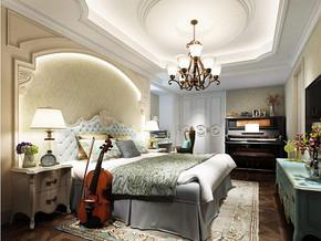 美式風格臥室裝修效果圖