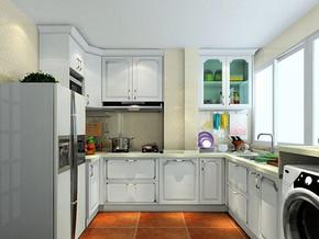 简欧式厨房装修效果图