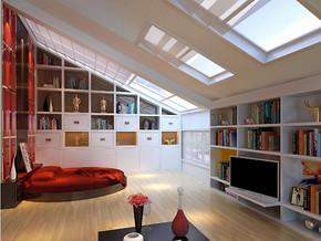 现代风格卧室橱柜装修效果图