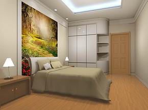 室内卧室装修效果图