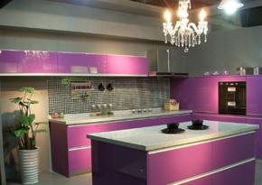 歐式豪華風格廚房裝修效果圖