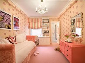 女孩兒童房間裝修效果圖