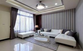 一室簡約客廳裝修效果圖