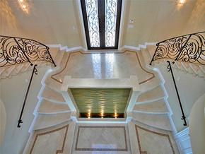 歐式別墅純白簡約玄關裝修效果圖