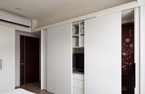家装卧室衣柜移门衣柜装修效果图
