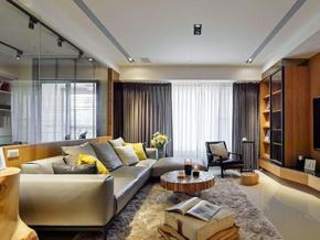 舒適宜家風格兩室兩廳室內裝修效果圖