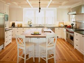 韩式风格厨房整体橱柜装修效果图