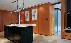 公寓吧台客厅多功能吧台装修效果图