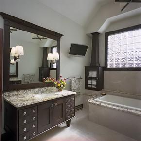 小居室卫生间装修图片