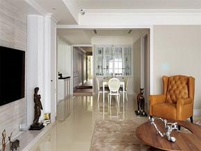 现代简约室内客厅手绘效果图