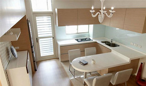 简约风格小户型厨房装修效果图