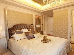 欧式现代古典风格卧室效果图图