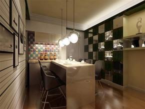 现代风格餐厅墙面背景墙装修效果图