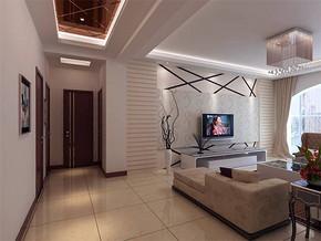 现代风格客厅最新家装图片
