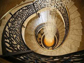 现代楼梯装修图片