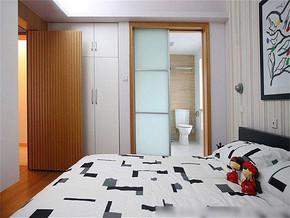 現代風格臥室裝修圖