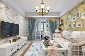 简装风格三室两厅两卫效果图