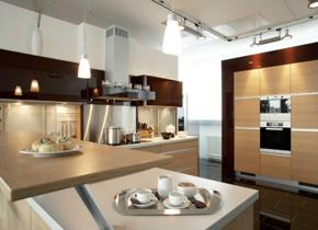 家装厨房橱柜效果图