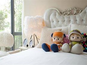 新古典风格16平米卧室装修图