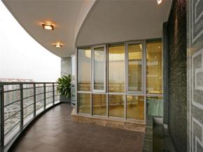 优美景致现代风格观景阳台装修设计